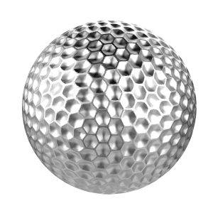 the wing clip golf ball
